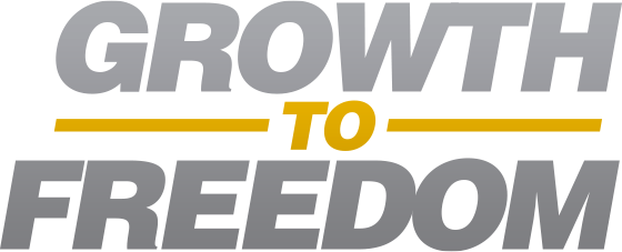 Growth to Freedom logo