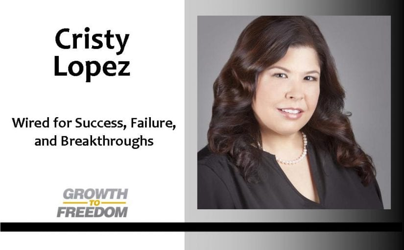 Dr. Cristy Lopez:  Wired for Success, Failure, and Breakthroughs with Dan Kuschell [PODCAST 26]