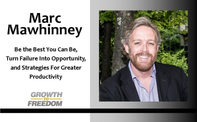 Be the Best You Can Be, Turn Failure Into Opportunity, and Strategies For Greater Productivity with Marc Mawhinney the Coach's Coach [PODCAST 80]