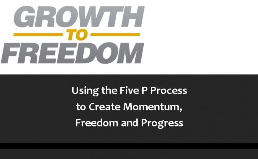 Using the Five P Process to Create Momentum, Freedom, and Progress [PODCAST 102]