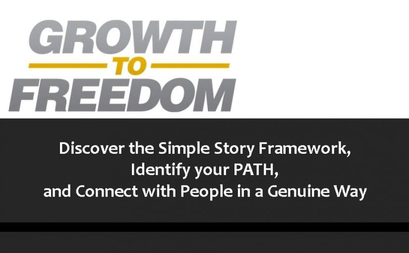 Discover the Simple Story Framework, Identify your PATH, and Connect with People in a Genuine Way [PODCAST 115]