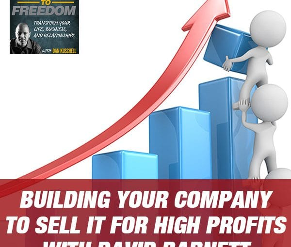 Building Your Company to Sell It for High Profits with David Barnett [PODCAST 179]