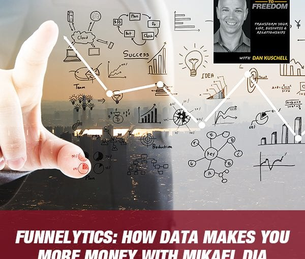 Funnelytics: How Data Makes You More Money with Mikael Dia [Podcast 196]
