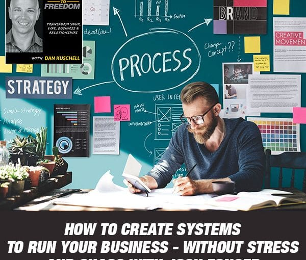 How To Create Systems To Run Your Business – Without Stress And Chaos with Josh Fonger [Podcast 201]