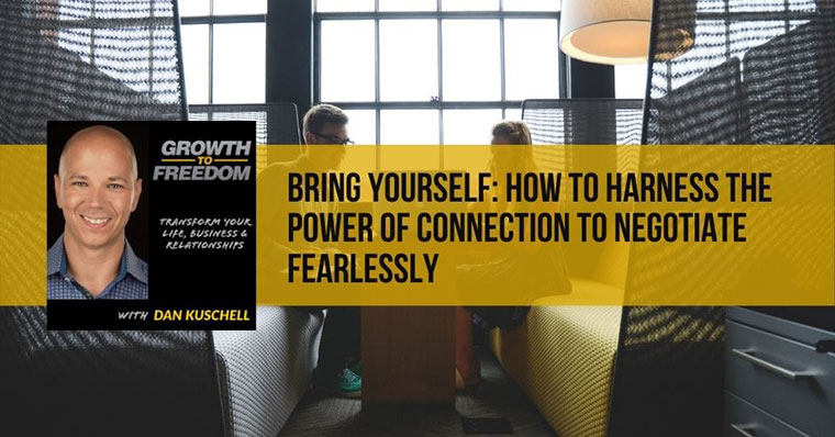 How to Harness the Power of Connection to Negotiate Fearlessly | Morvarid Taheripour | 329